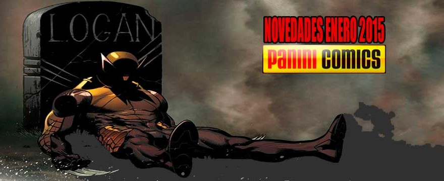 NOVEDADES PANINI ENERO 2015