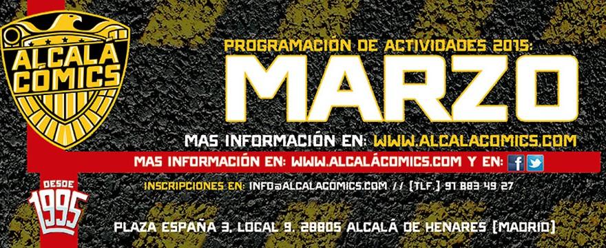 PROGRAMACION ACTIVIDADES MARZO 2015
