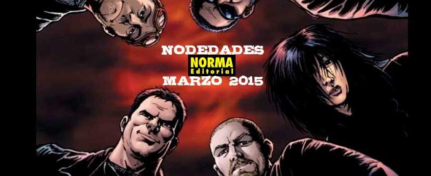 NOVEDADES NORMA EDITORIAL FEBRERO 2015